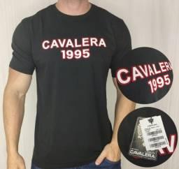 Camiseta Cavalera Milenium 1995 Preta G