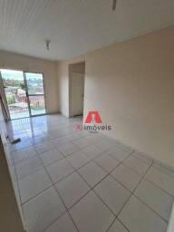 Apartamento com 2 dormitórios para alugar, 51 m² por R$ 910,00/mês - Residencial Araçá - R