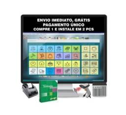 Sistema Pdv Completo, Controle Estoque, Vendas, Caixa, Erp