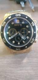 Relógio De Pulso Invicta 0072 Pro Diver Collection- 18 K (original)