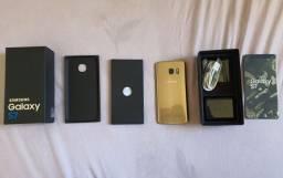 Samsung S7 seminovo na caixa
