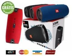 Caixa Som Portátil Xtreme Mini Bluetooth alta potencia Usb P2 Sd FM