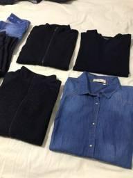 Lote de roupas femininas 10 peças
