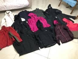Blusas frio femininas impermeáveis Columbia / Nike / HH