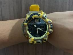Relógio G-Shock AMARELO CAMUFLADO!! Aprova de Água!