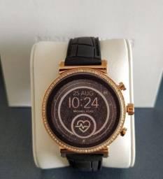 Relógio inteligente smartwatch michael kors access mkt5069 sofie 2a geração lançamento