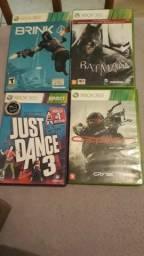 Diversos jogos de Xbox 360 Originais