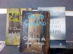 3 livros Paulo coelho