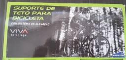 Suporte de Teto para Bicicleta c sistema de elevação.