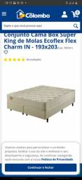 Cama super King 1.93x2.03 Ecoflex