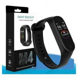 Pulseira M4 Smartband Relógio inteligente