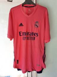 Camisa Rosa Real Madrid 2021 versão jogador