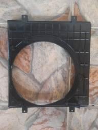 suporte defletor carcaça ventoinha vw fox polo sem ar 2003 a 2008