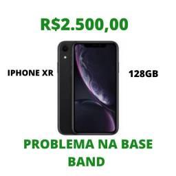 Iphone XR 128GB com problema de rede