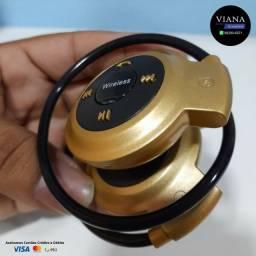 Fone de ouvido Esportivo Bluetooth