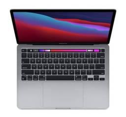 Apple macbook pro m1 8gb 512gb SSD 13.3 1 ano lacrado 12x 1057,00