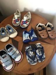 Roupas bebê e calçados