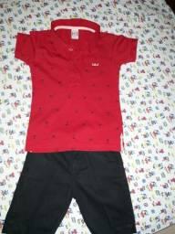 1 conjunto de roupa infantil