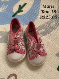 Sapatos de menina Semi Novo