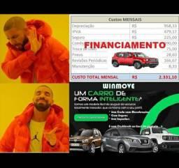 Aluguel Carro inteligente com cash back