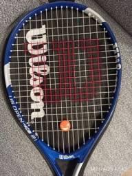 Raquete de tênis infantil - Wilson Us Open 21 - azul - para crianças de 05 a 07 anos