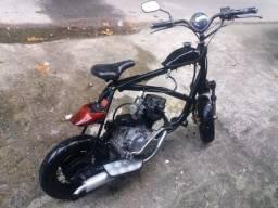 Patinete com motor 125cc