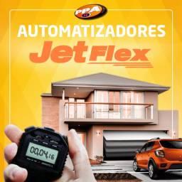 Promoção motor para portão basculante Jet Flex 1,50m R$ 887,00 ou 12 x 79,87