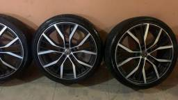 Rodas aro 20 com pneus 100%