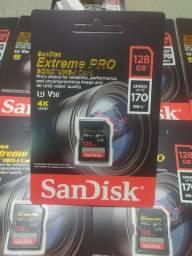 Cartão de memória UHS 128GB