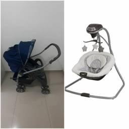 Balanço e Carrinho de bebê