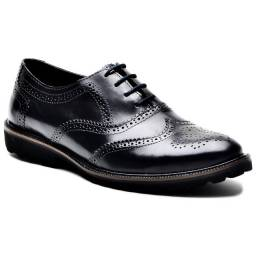 Tem Pé Grande. Sapato Social Masculino Oxford Couro Legitimo Preto Marrom do 36 ao 49