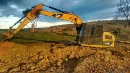 Escavadeira hidráulica(parcelo)