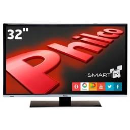 Troco p/celular Smart TV Philco de 32Pol - seminova