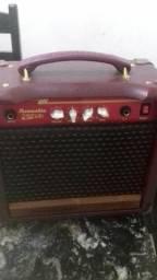 Caixa amplificadora de violão