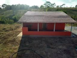 Chácara casa nova aragoiania/energia/córrego/gramada/ 1km do asfalto 75 mil ac veículos