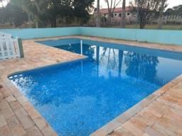 Linda Chácara Pilar do Sul, 1.440 m², Casa 3 Quartos Avarandada, Piscina, Campinho