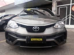 Toyota etios x 1.5 completo com gnv Única Dona - 2018