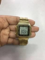 bf993a2e610 Relógio Casio Vintage Dourado (Original)
