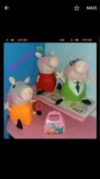 Kit Peppa Pig em feltro para venda