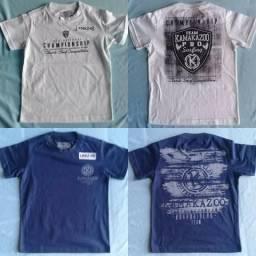 Camisetas Infantis Masculinas LOTE de7ed8179ee9c