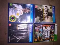 Jogos ps4 e Xbox 360