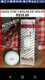 Bolas de golfe novas maxfli