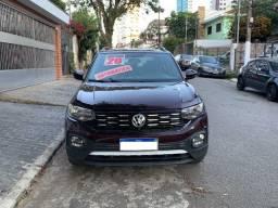 Volkswagen T-Cross 200TSI Total Flex Comfortline Automático 2020 lindíssima !!