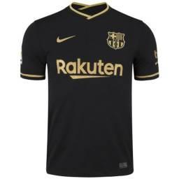 Camisa do Barcelona Preta
