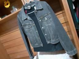 Jaqueta jeans linda Tam p