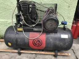 Compressor de ar comprimido com 7,5 HP revisado