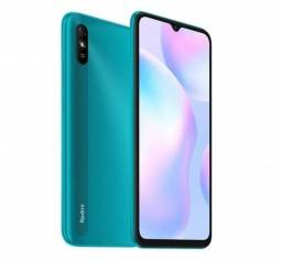 Xiaomi Redmi 9A 32GB / 4G / 2GB RAM / Tela 6.53'' / Câmera 13MP - Peacock Green <br>