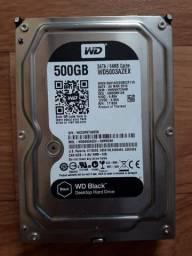 HD Western Digital WD Black Desktop / Sata III 6.0Gb/s Model: WD5003AZEX-00MK2A0