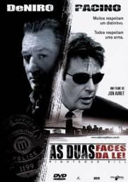 As Duas Faces da Lei Dvd Policial Original Novo Lacrado Dublado