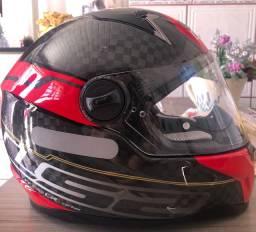 Vendo capacete LS2 de fibra de carbono zero !!